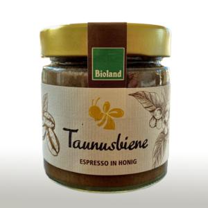 Espresso in Honig